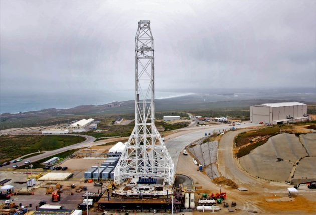 SpaceX facility at Vandenberg