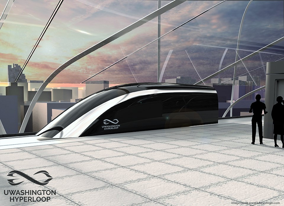 Hyperloop pod concept