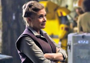 "Carrie Fisher in ""The Force Awakens"""