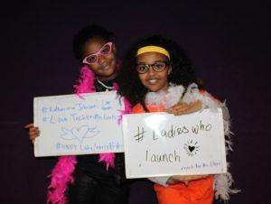 """Techbridge girls at """"Hidden Figures"""" showing"""