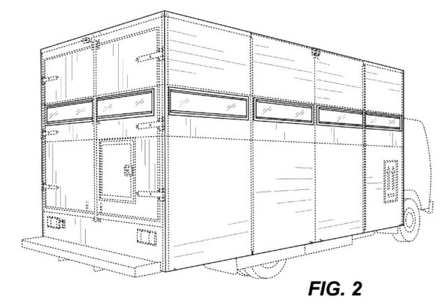 Treasure Truck patent