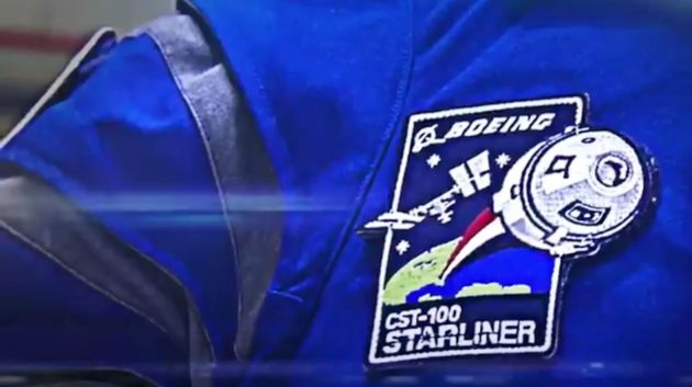 Boeing spacesuit patch