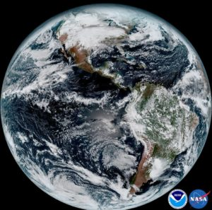 Full disk from GOES-16