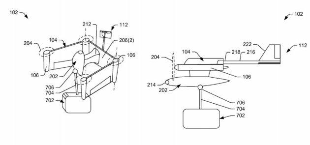 Amazon drone configurations
