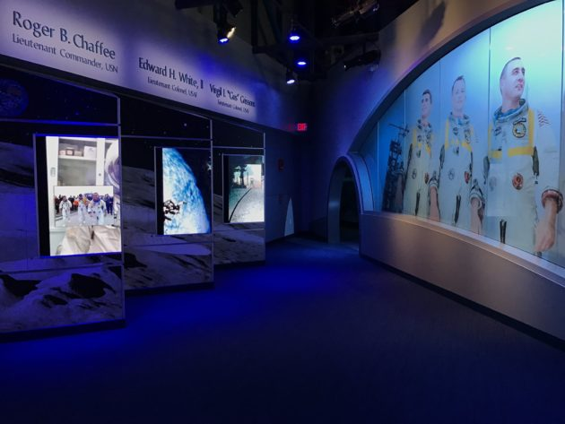 Apollo 1 exhibit