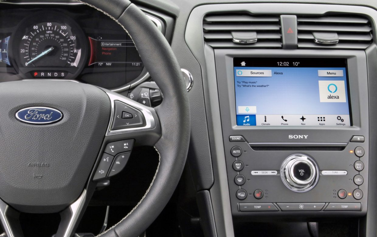 Ford is turning its cars into Amazon Alexa devices starting