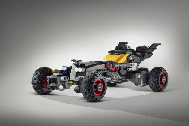 Chevy shows off Lego Batmobile at Detroit auto show