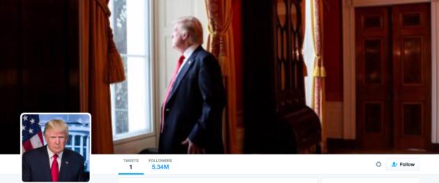 @POTUS Trump
