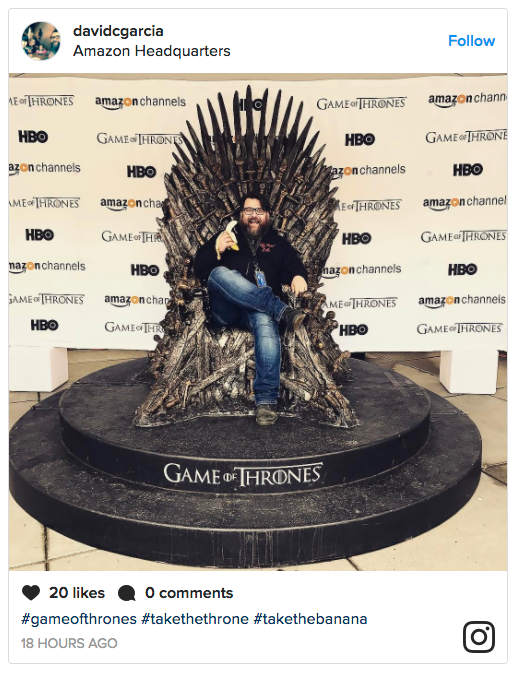 amazon channels game of thrones