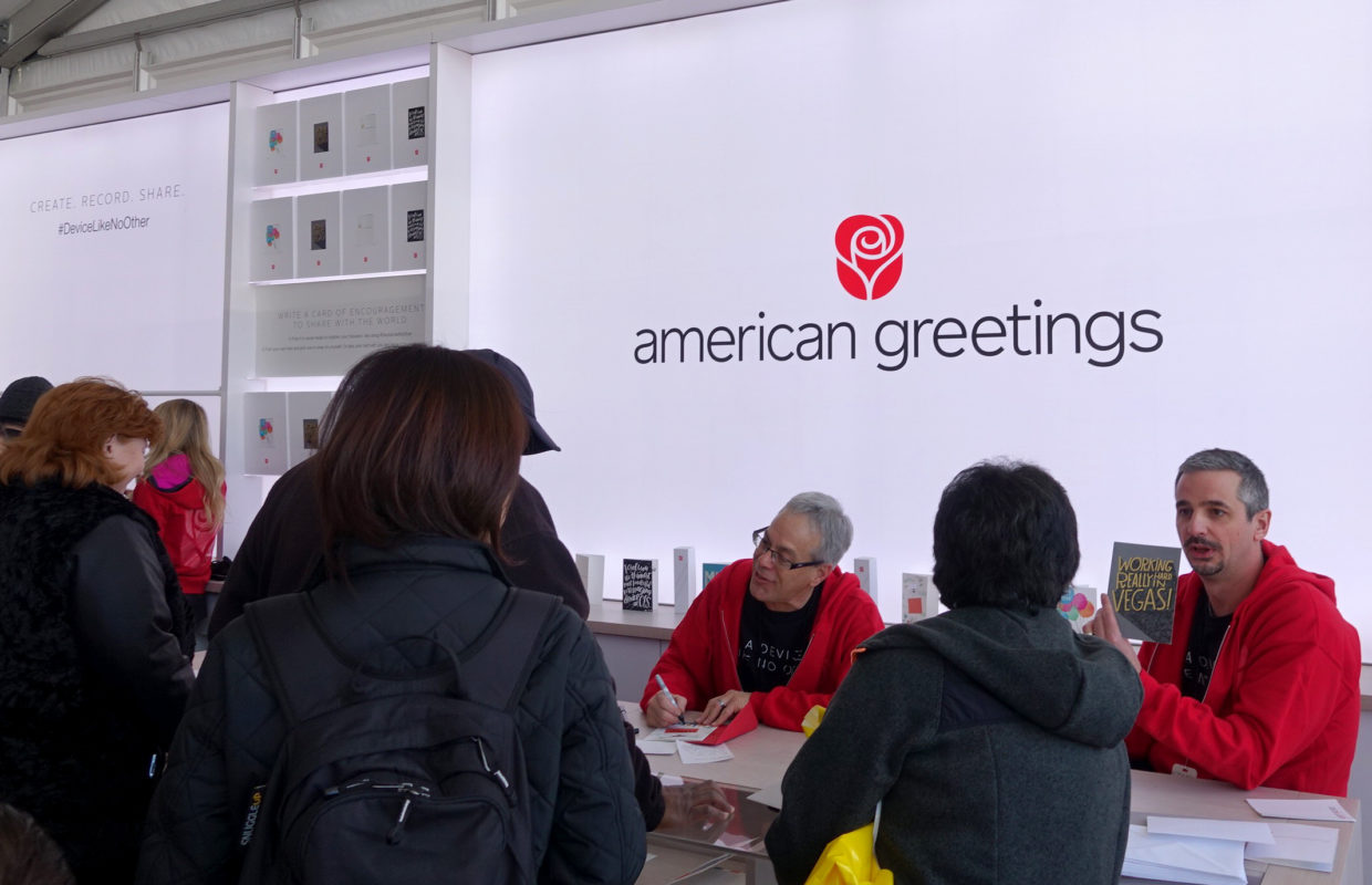 The Device Like No Other American Greetings Showed Off At Ces Was