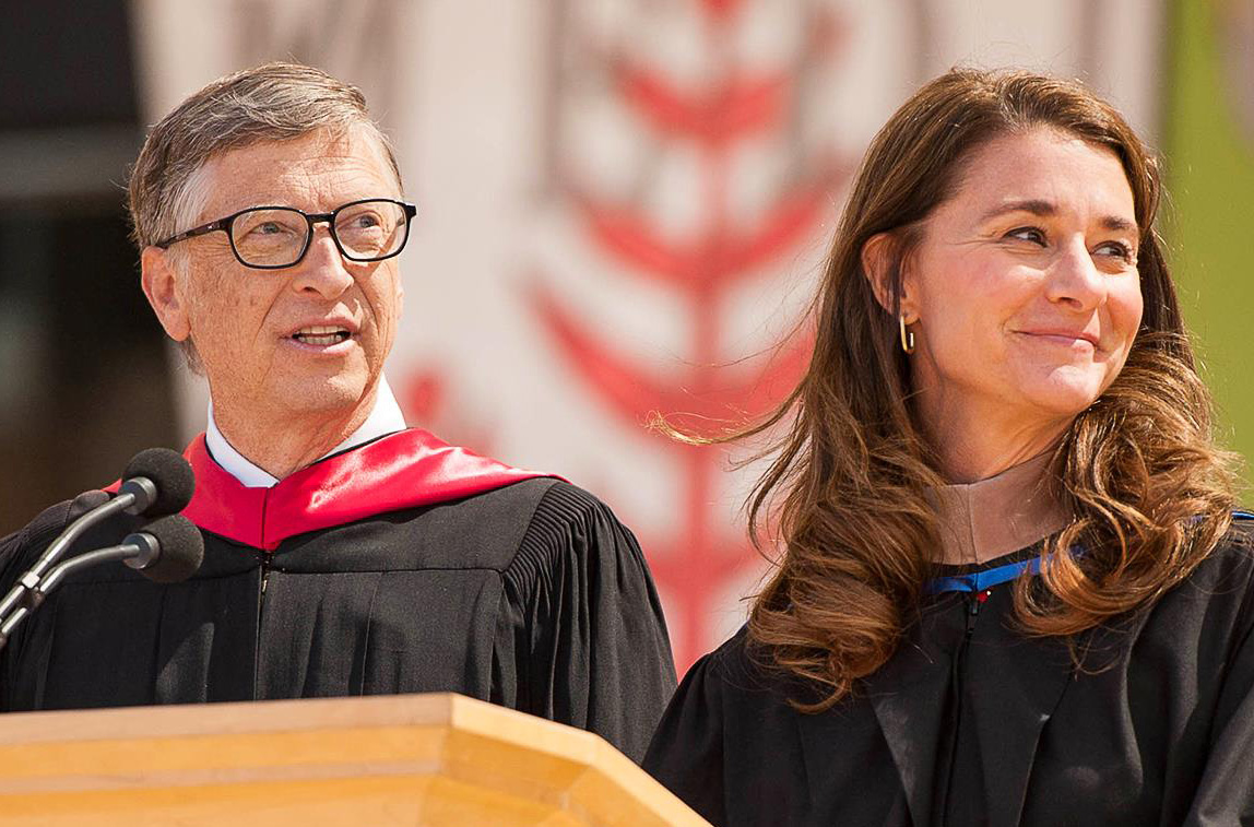 These Are Not Easy Times Bill And Melinda Gates Encourage 2020 Grads To Work Toward Better World Geekwire