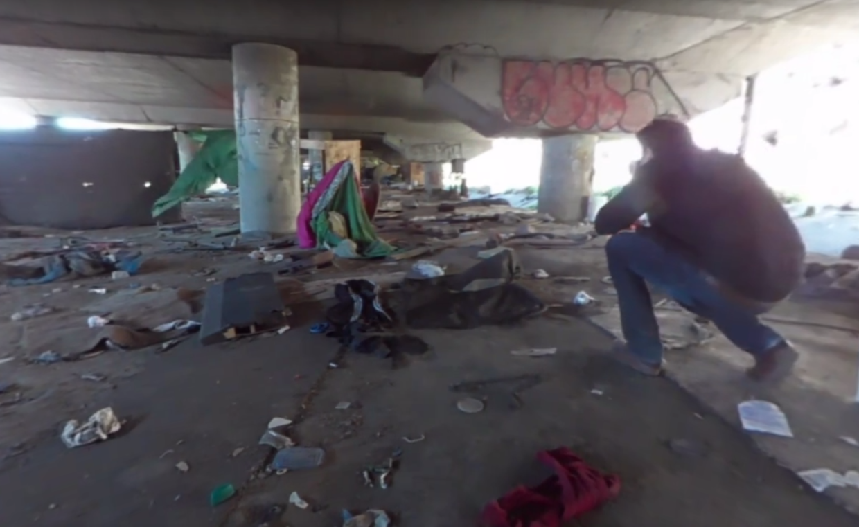 Watch this striking virtual reality footage chronicling Seattle's homeless crisis