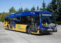 King County Metro electric bus