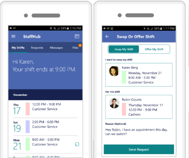 Microsoft Releases StaffHub An Office 365 App For Shift Workers