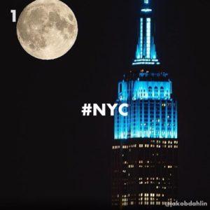 NYC hashtag Instagram