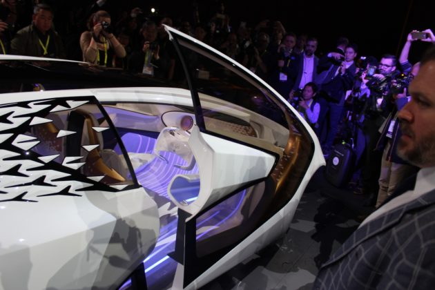 Cool Toyota Unveils Kinetic Warmth Concept Car At CES That
