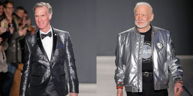 Bill Nye and Buzz Aldrin