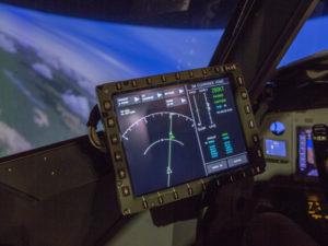 Electronic Flight Bag screen