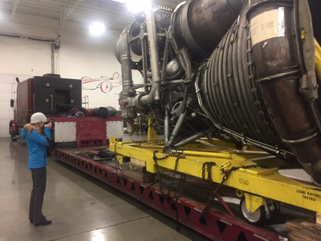 Museum Of Flight Gets Intact Moon Rocket Engine To Go With