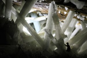 Cave of Crystals, Naica. (Photo by Alexander Van Driessche - CC BY 3.0)