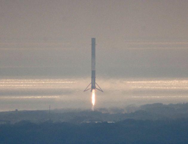 Falcon 9 descent