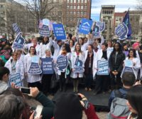 """""""Stand Up for Science"""" rally"""