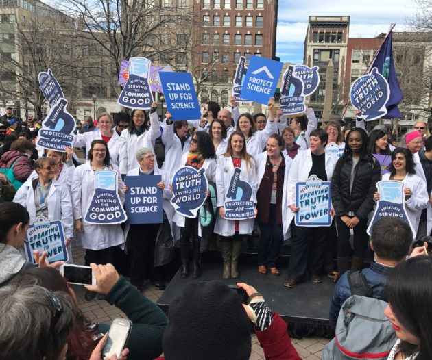 """Stand Up for Science"" rally"