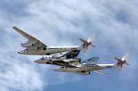 SpaceShipTwo and White Knight Two