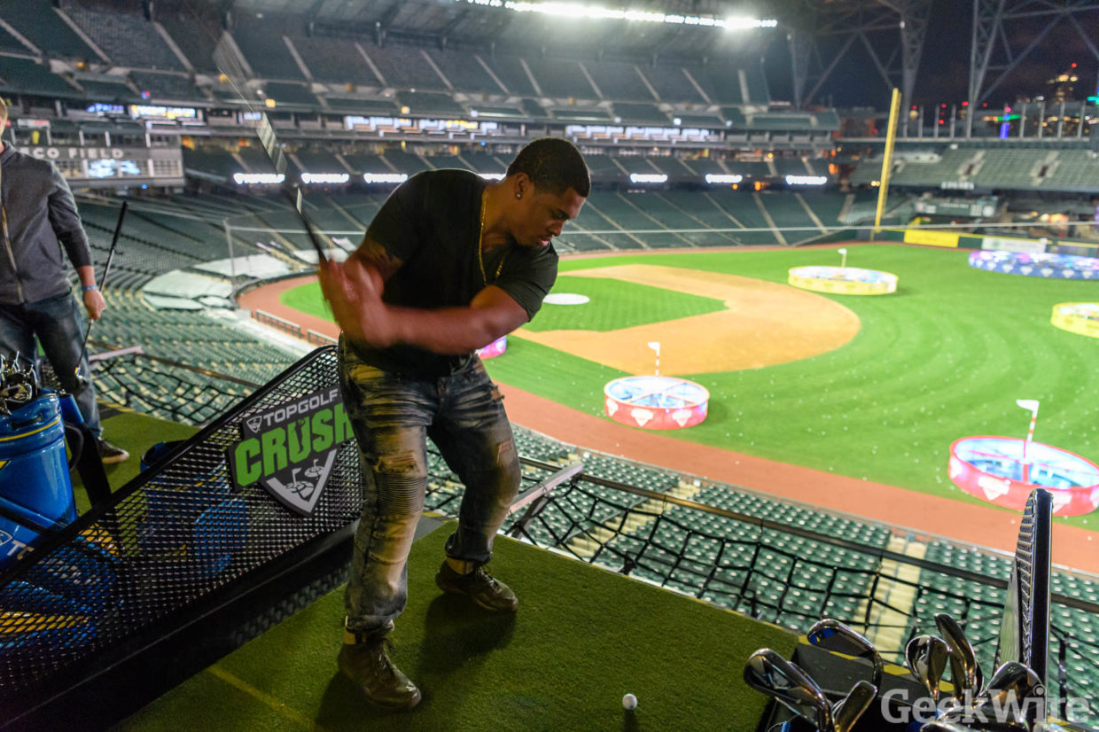 Topgolf Comes To Seattle Testing The Driving Range Meets