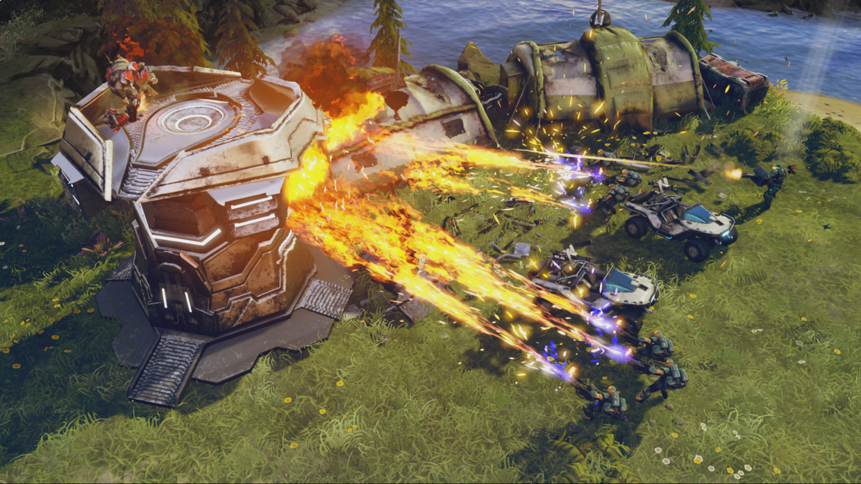 Microsoft Hosts Halo Wars 2 Launch Event As It Preps To Debut New Real Time Strategy Game Geekwire