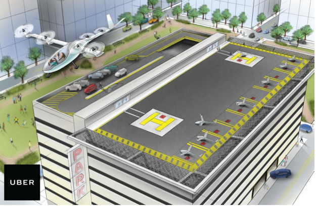 Uber hires NASA engineer to help develop unmanned flying taxis