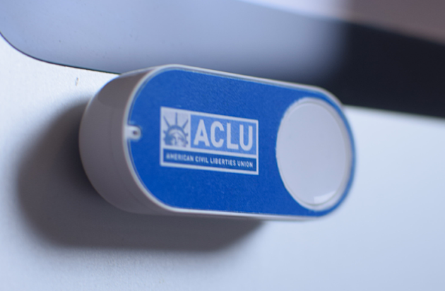 ACLU Amazon Dash button