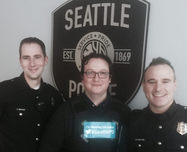 Video of gaming Seattle officer discussing shooting removed