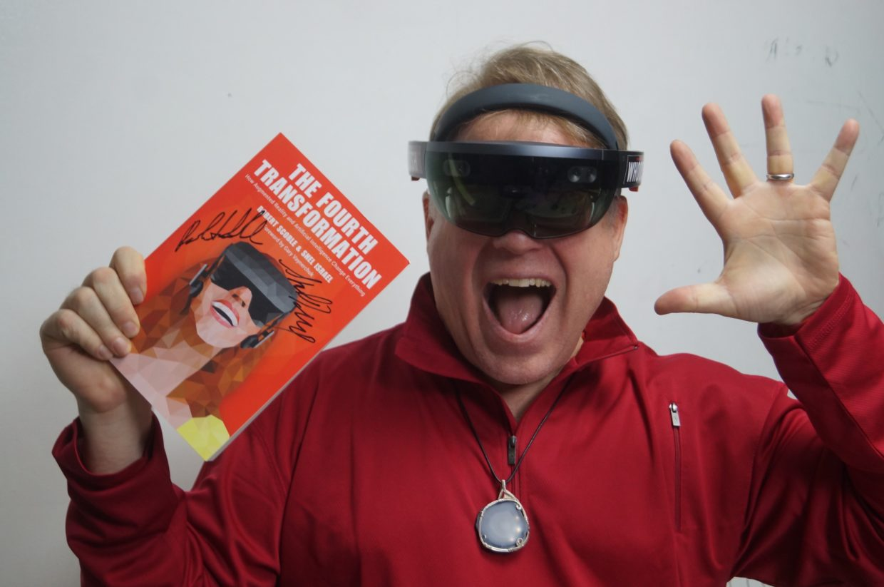 Q&A: Tech evangelist Robert Scoble predicts mixed reality devices will largely supplant smartphones