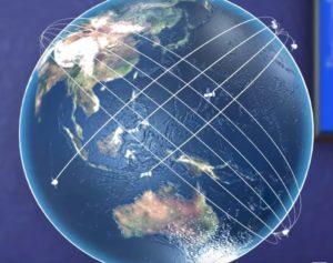 Satellite arrangement
