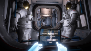 """Mission: ISS"" scene"