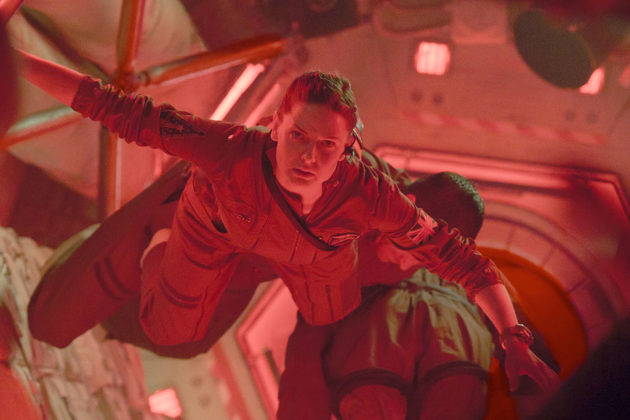 """Rebecca Ferguson plays Miranda North, a planetary protection officer aboard the International Space Station, in the movie """"Life."""" (Sony Pictures Digital Productions)"""