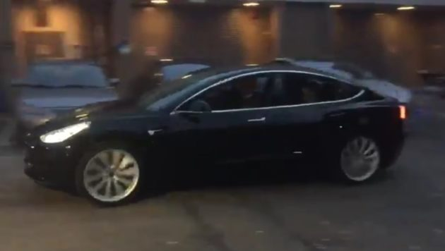 A Release Candidate Version Of The Tesla Model 3 Hits Streets Elon Musk Via Twitter