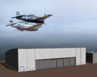 Flying Heritage hangar