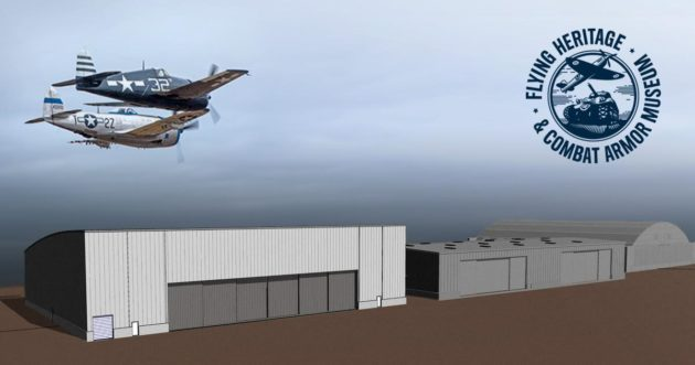 Flying Heritage museum expansion