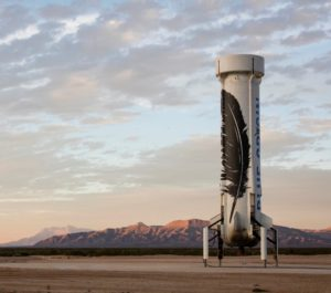 New Shepard booster
