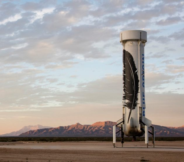 Another Feather In Jeff Bezos Space Helmet Blue Origin Wins