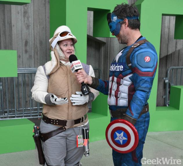 Captain GeekWire