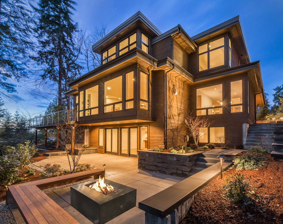 Northwest modern masterpiece in kirkland for for Northwest contemporary homes