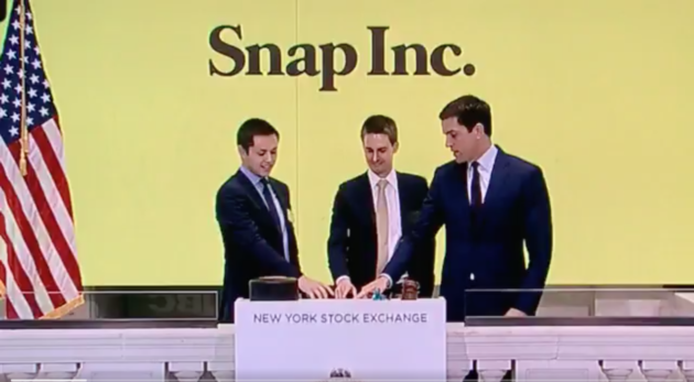 Why is snap starting an ipo