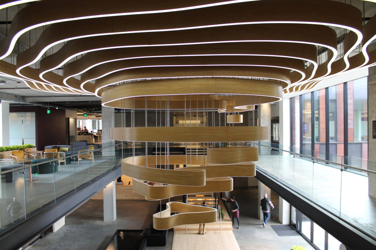 Inside Tableau S New Seattle Hq An Ode To Data