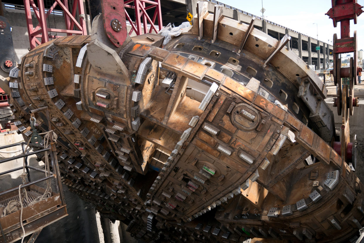 Seattle Tunnel Machine Bertha Is Just Days From Breaking Through To Wiring Diagram Complete Long Journey Geekwire