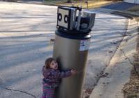 YouTube girl and robot