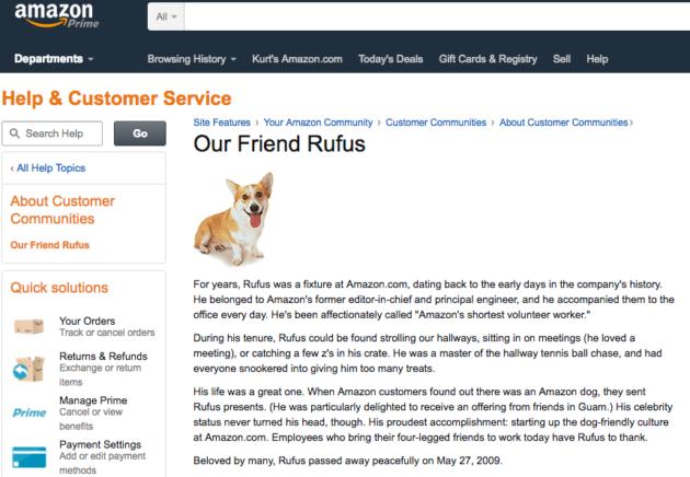 Rufus Amazon