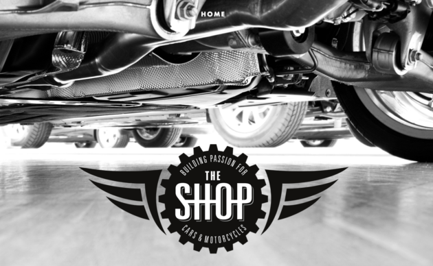 The Shop website